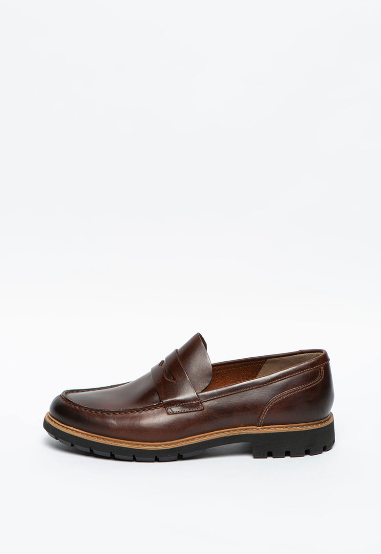 Pantofi loafer de piele Batcombe Edge imagine promotie