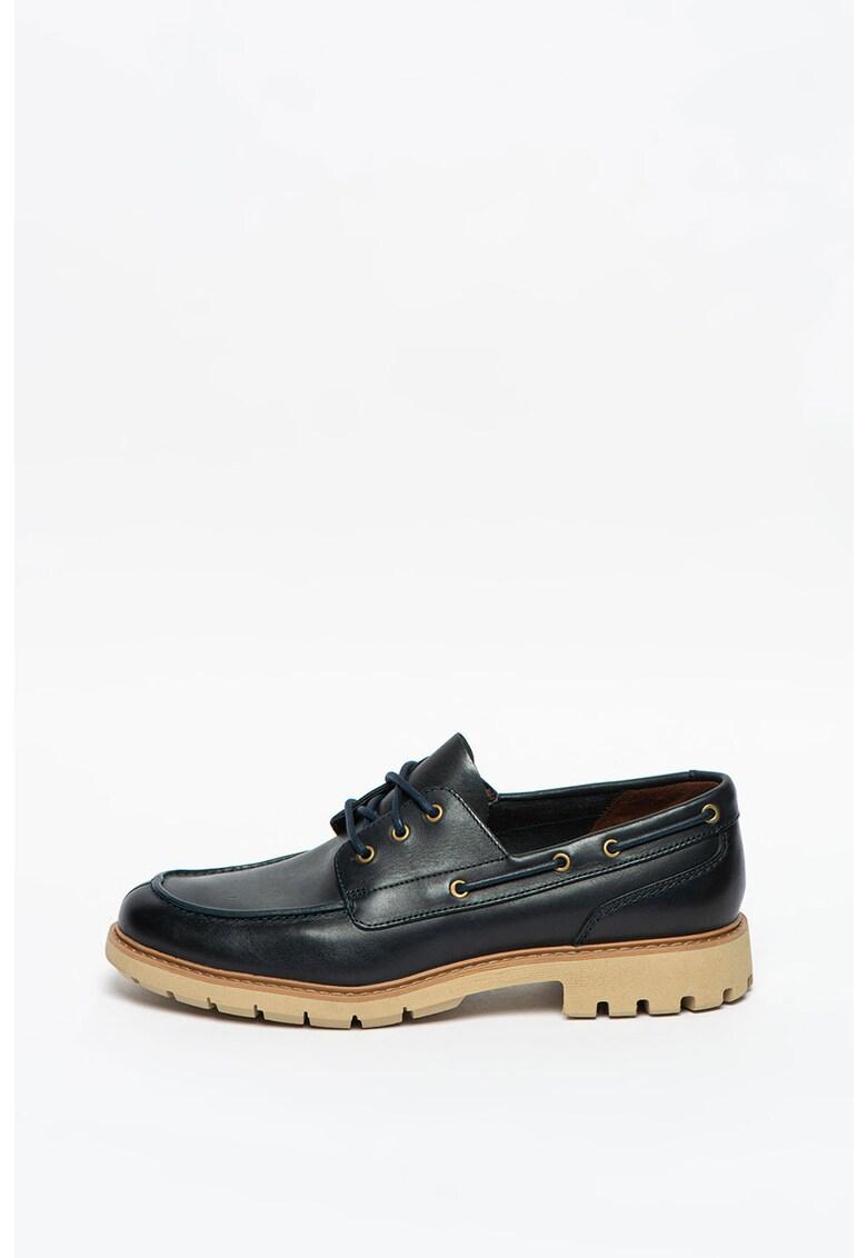 Pantofi boat de piele Batcombe Sail imagine promotie