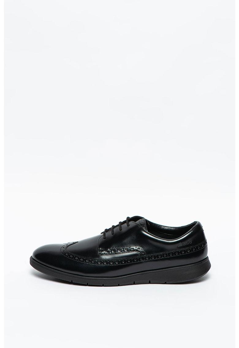 Pantofi brogue de piele Helston Limit imagine