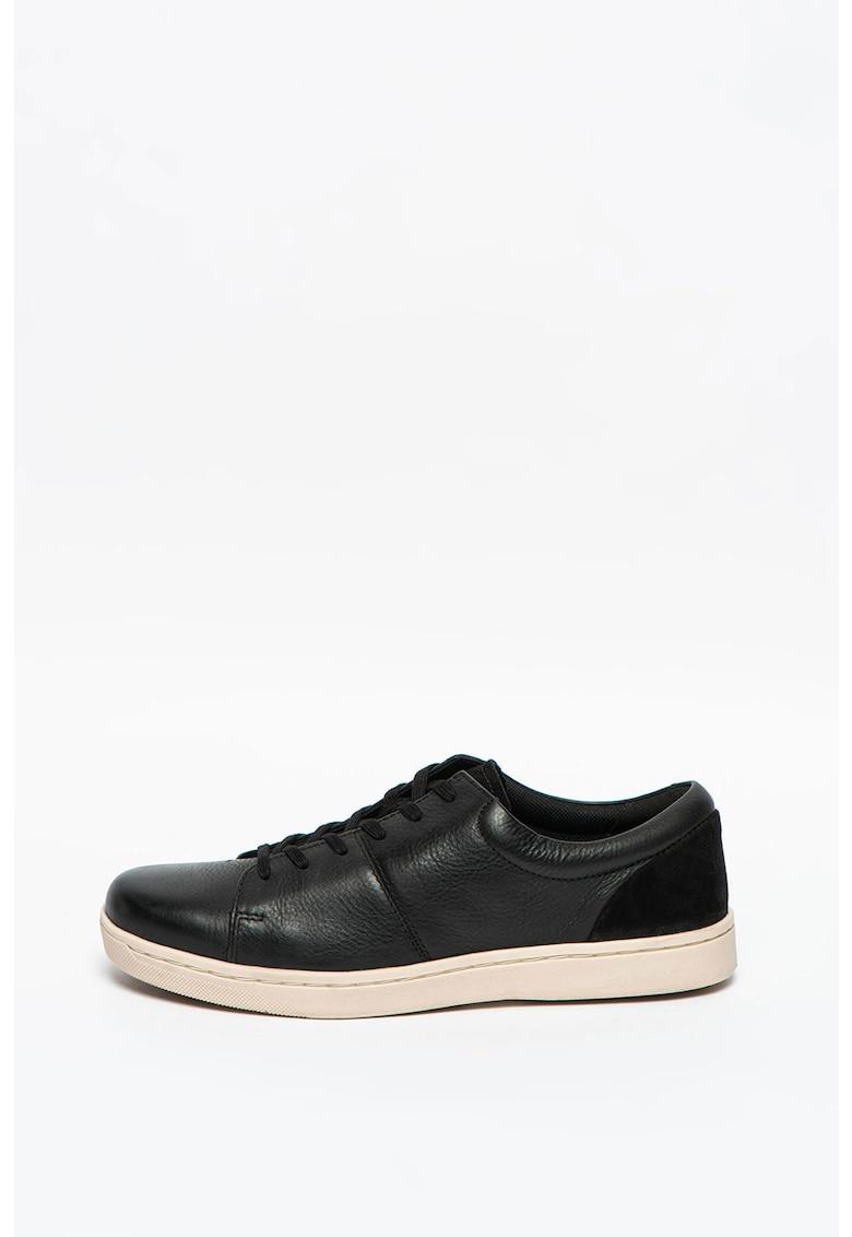 Pantofi sport de piele si piele intoarsa Kitna Vibe imagine promotie