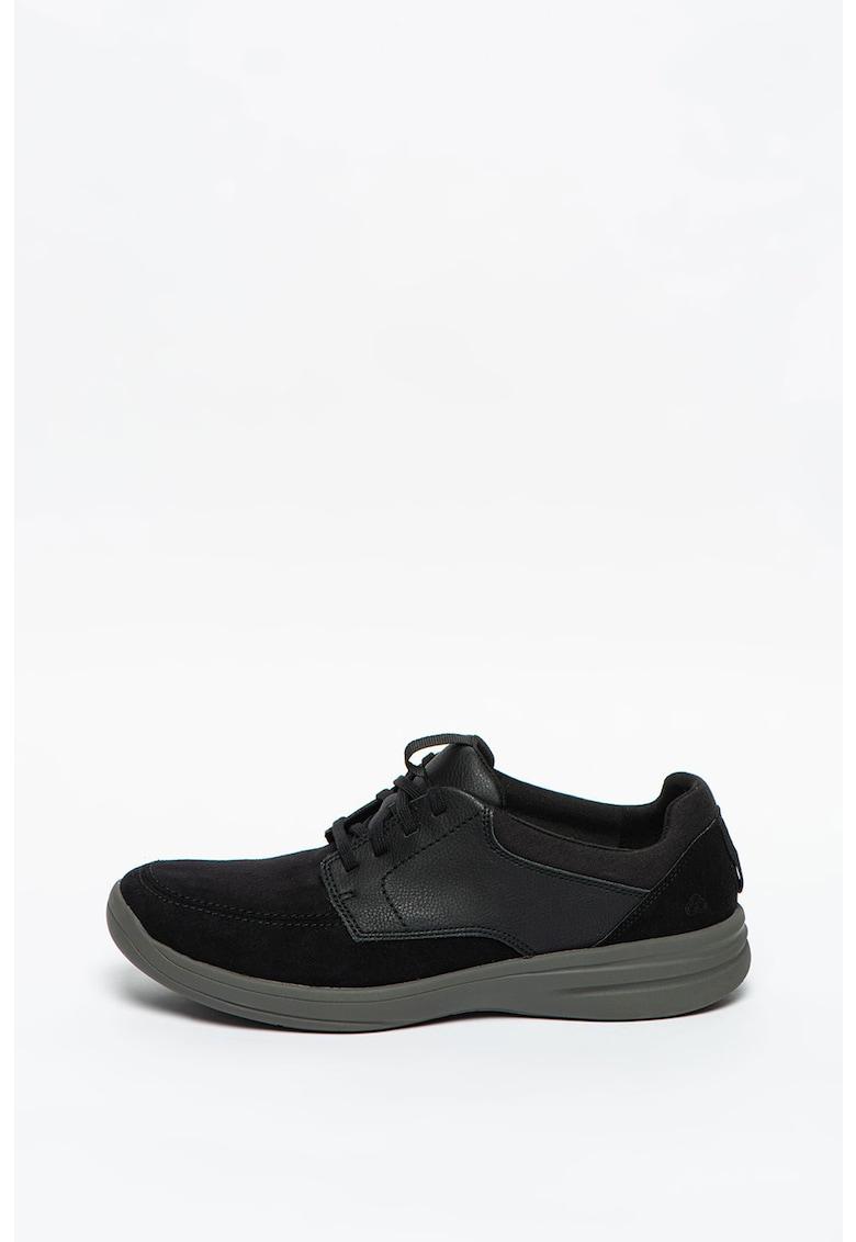 Pantofi de piele ecologica cu sireturi Step Stroll imagine