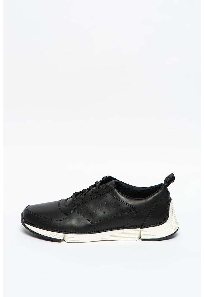 Pantofi sport de piele cu perforatii Tri Sprint imagine promotie