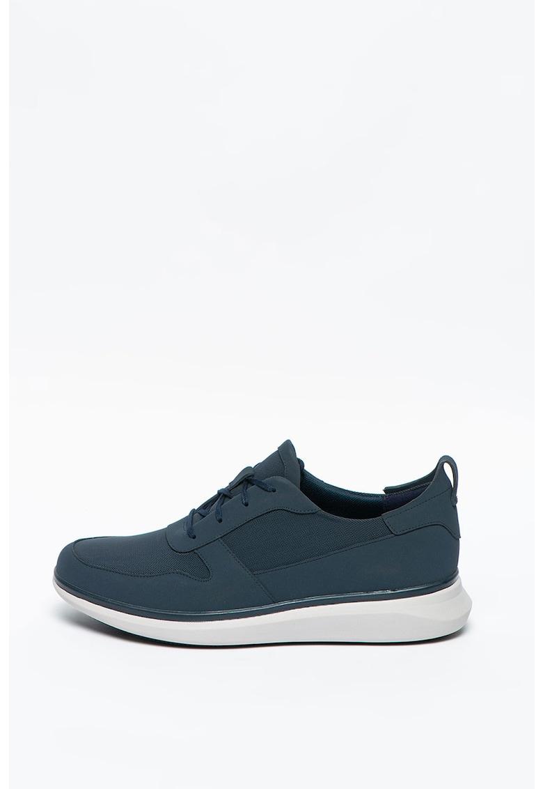 Pantofi sport din piele nabuc UN-GLOBE imagine promotie