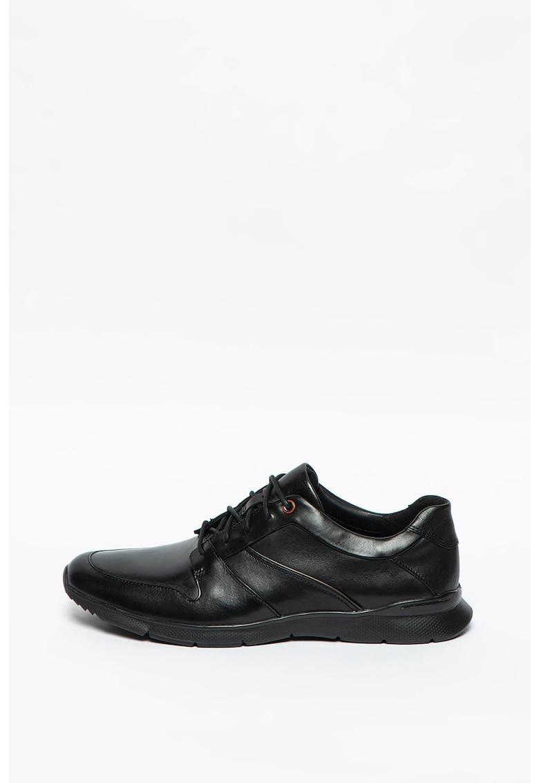 Pantofi casual din piele cu sireturi Un-Tynamo