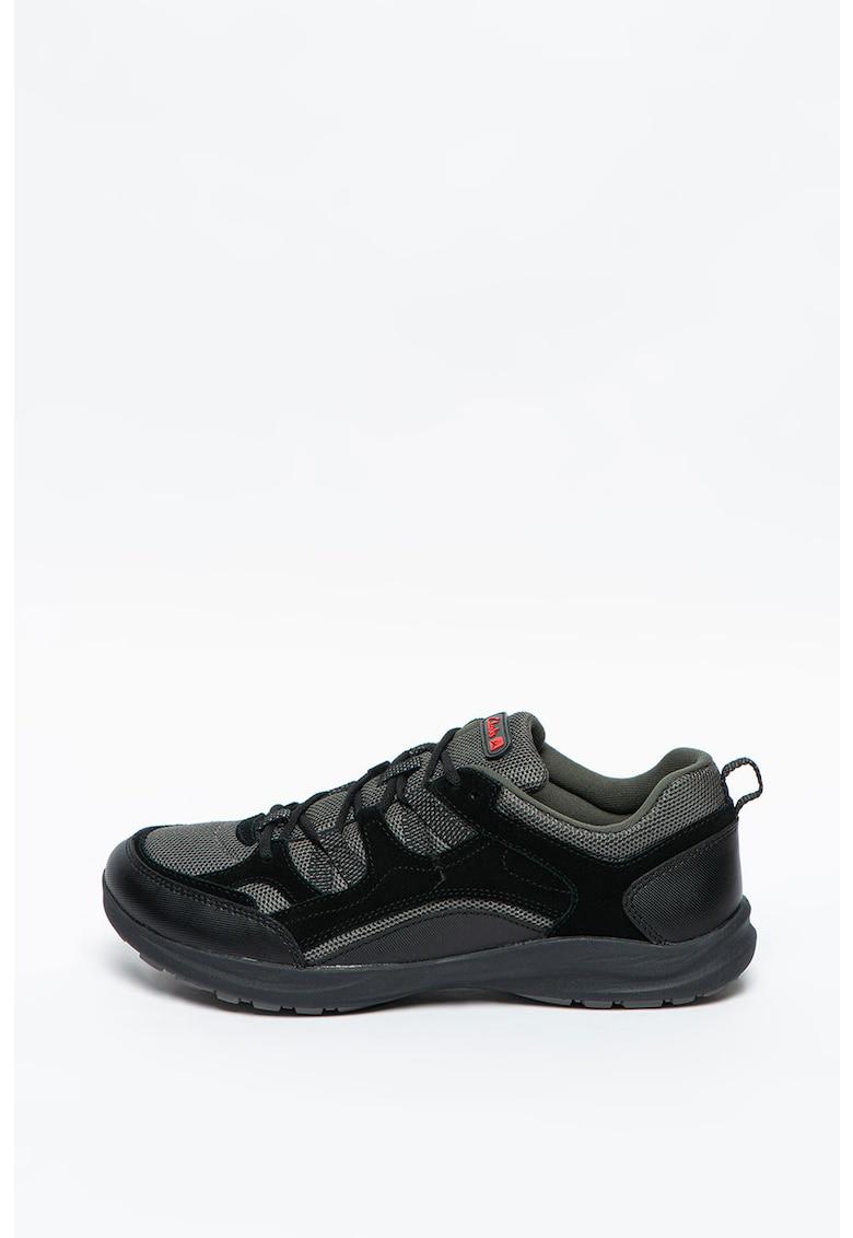 Pantofi sport cu insertii din piele intoarsa Wave Vista imagine promotie