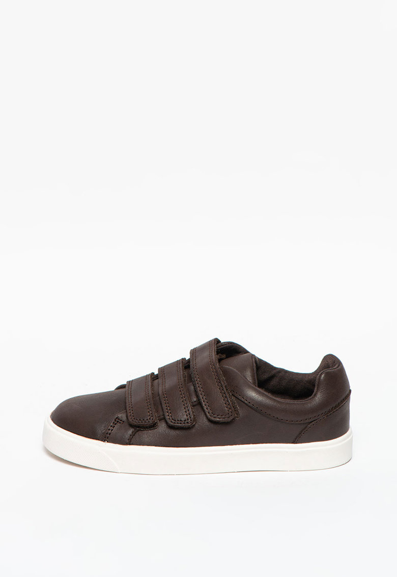 Pantofi sport din piele cu inchidere velcro City Oasislo imagine promotie
