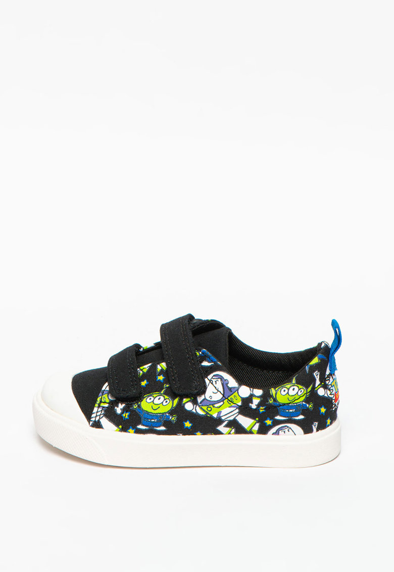 Pantofi sport din material textil cu inchidere velcro City Team imagine promotie