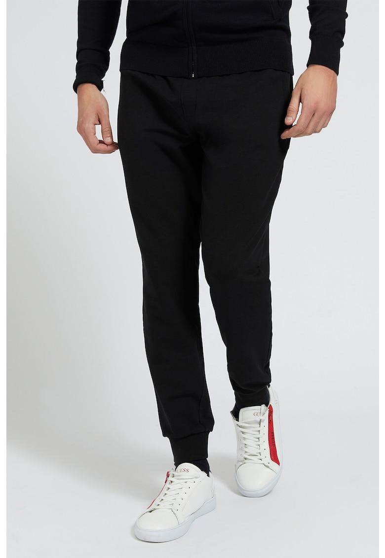 GUESS JEANS Pantaloni sport cu snur de ajustare in talie