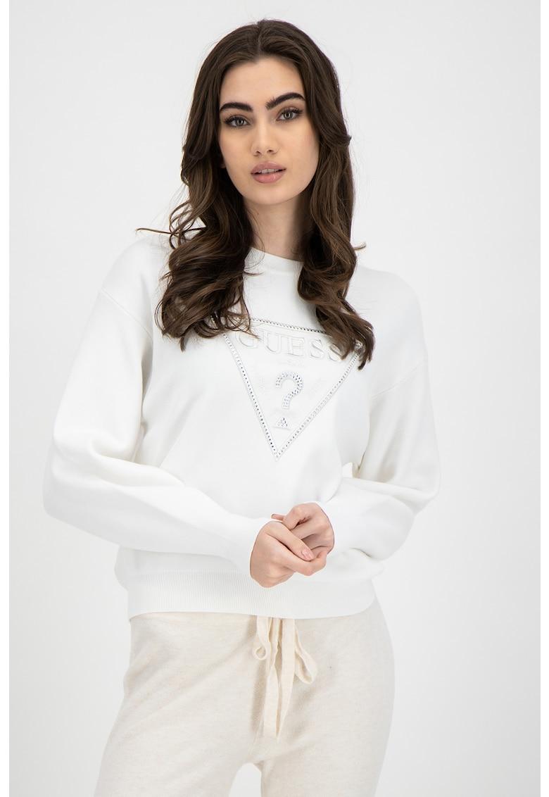 Bluza sport cu imprimeu logo 1 imagine