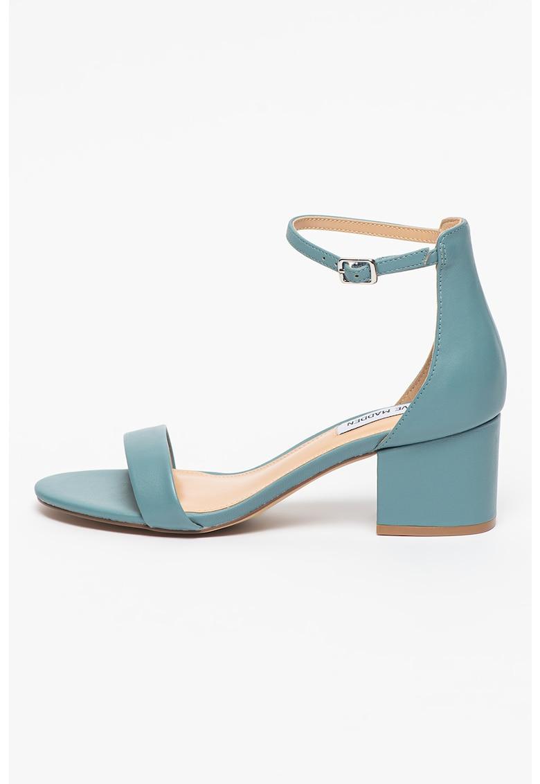 Sandale de piele cu toc inalt Irenee