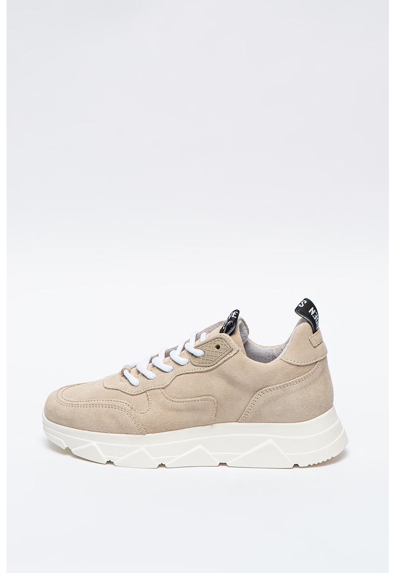 Pantofi sport de piele intoarsa Pitty