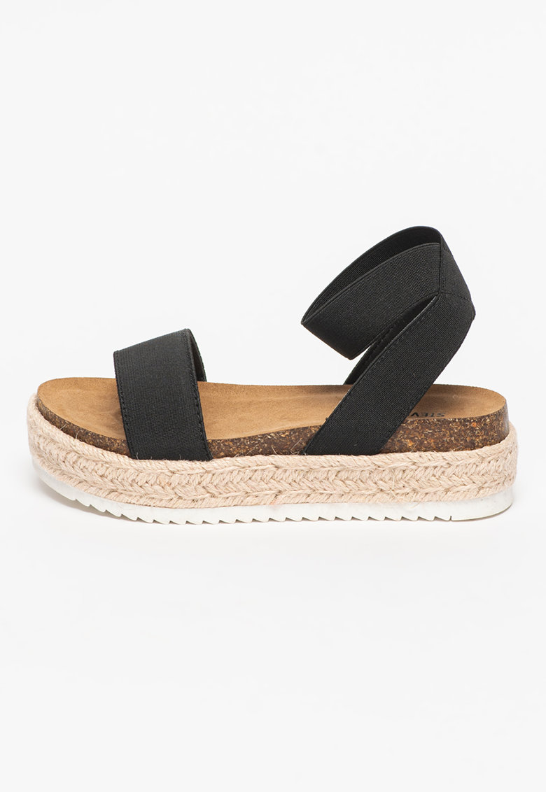 Sandale tip espadrile flatform Layne fashiondays.ro