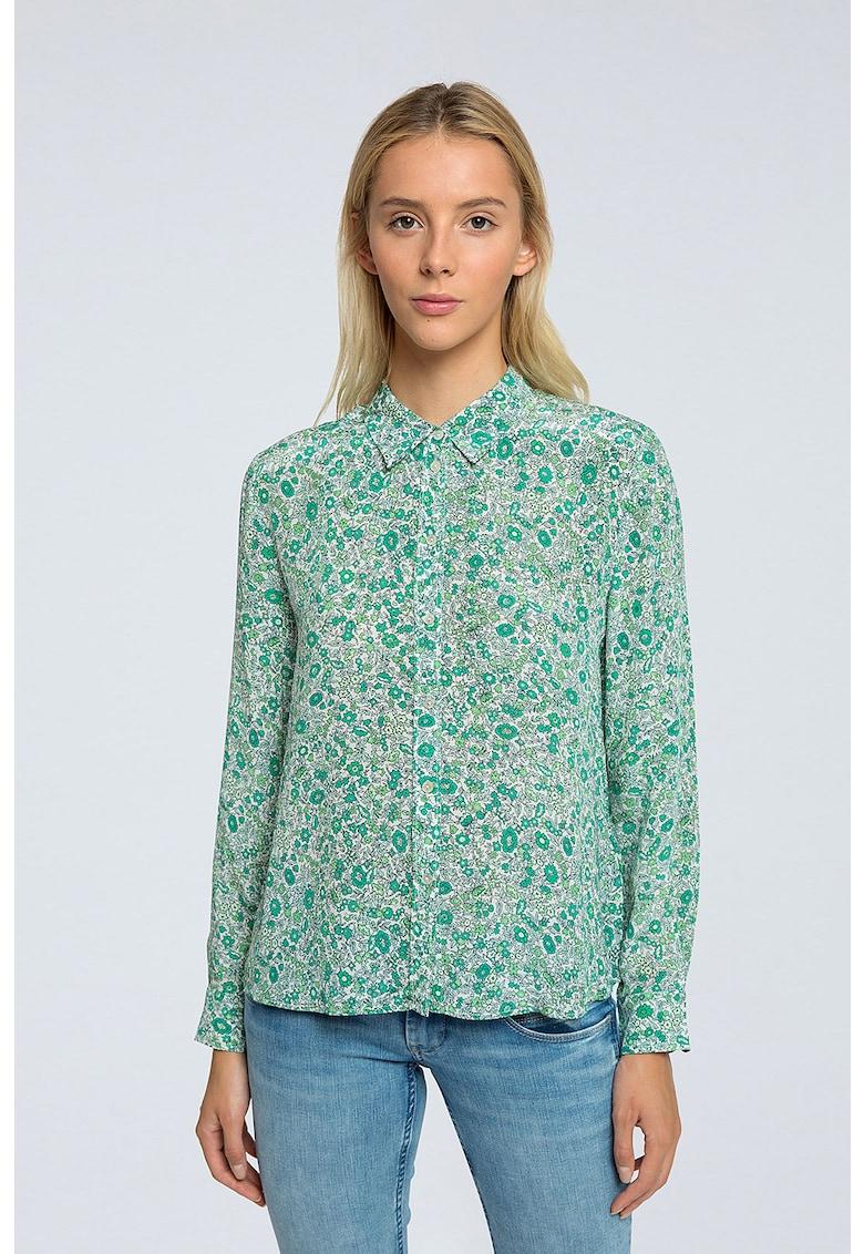 Camasa cu imprimeu floral de la Pepe Jeans London