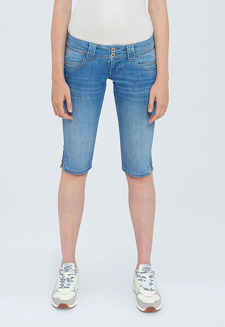Pantaloni 3/4 din denim