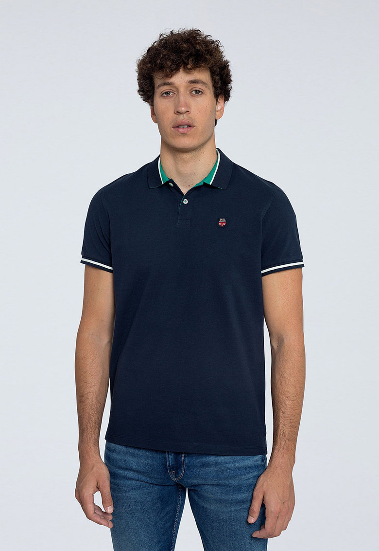 Tricou polo regular fit Terence imagine
