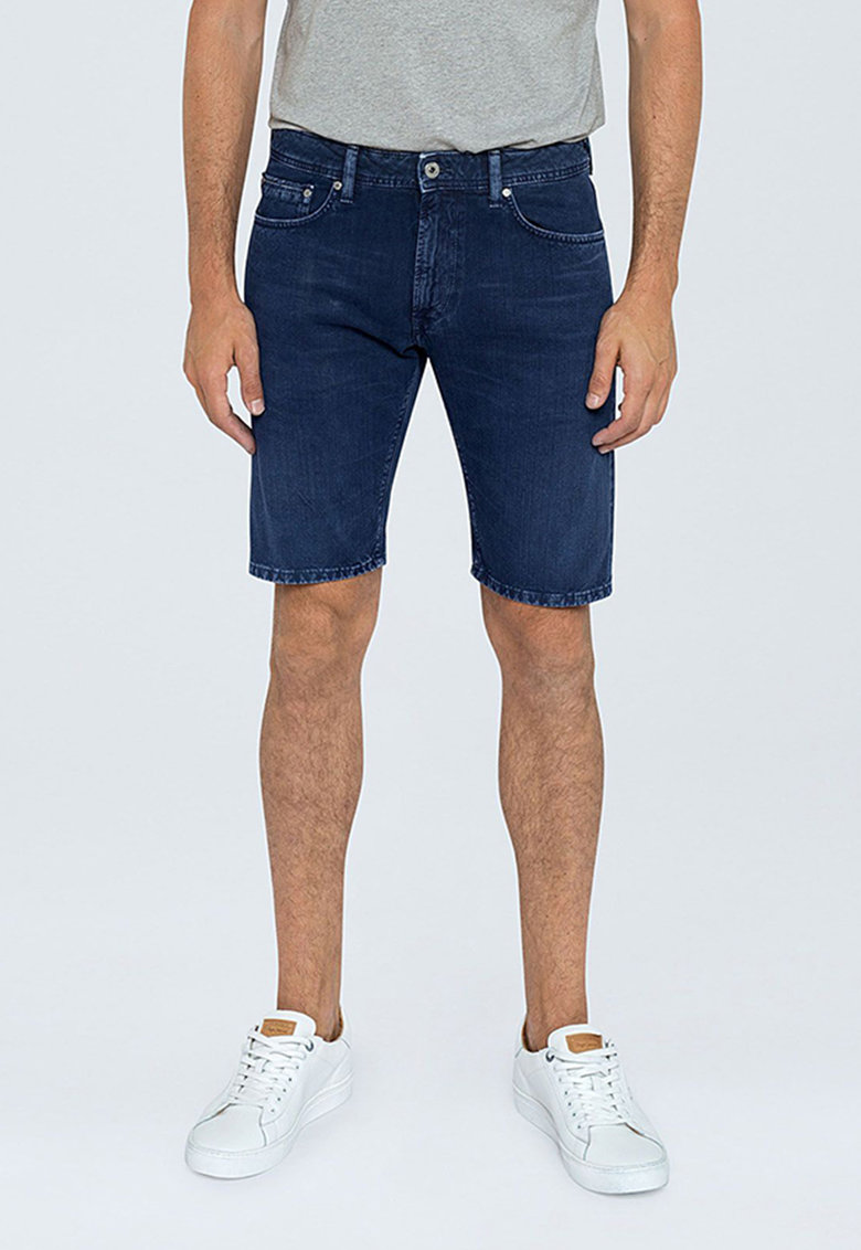 Bermude din denim imagine fashiondays.ro Pepe Jeans London