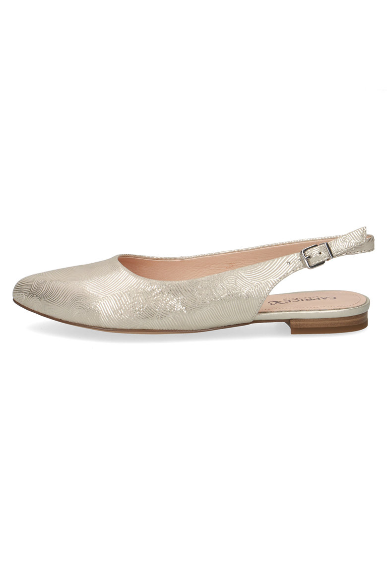 Pantofi slingback de piele