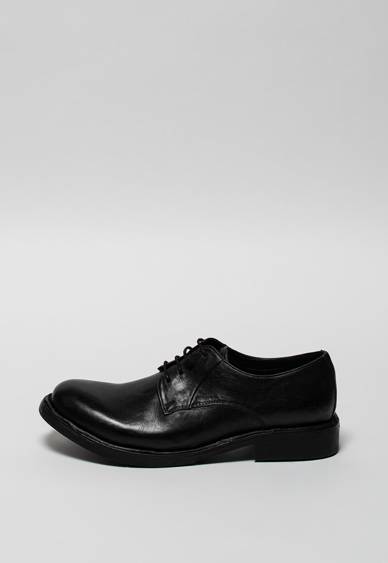 Pantofi derby de piele Roy imagine