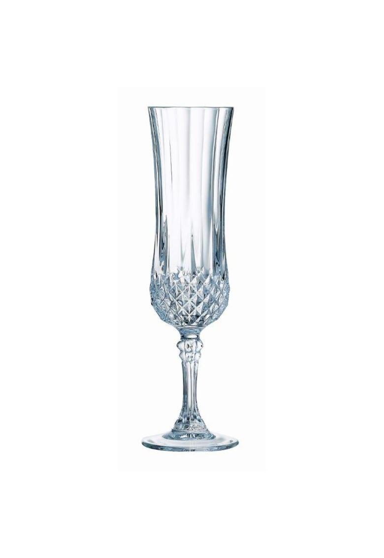 Set 6 Pahare flute Longchamp - 140 ml poza fashiondays