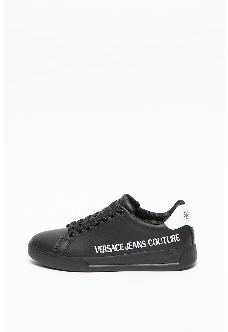 Pantofi sport cu garnituri din piele