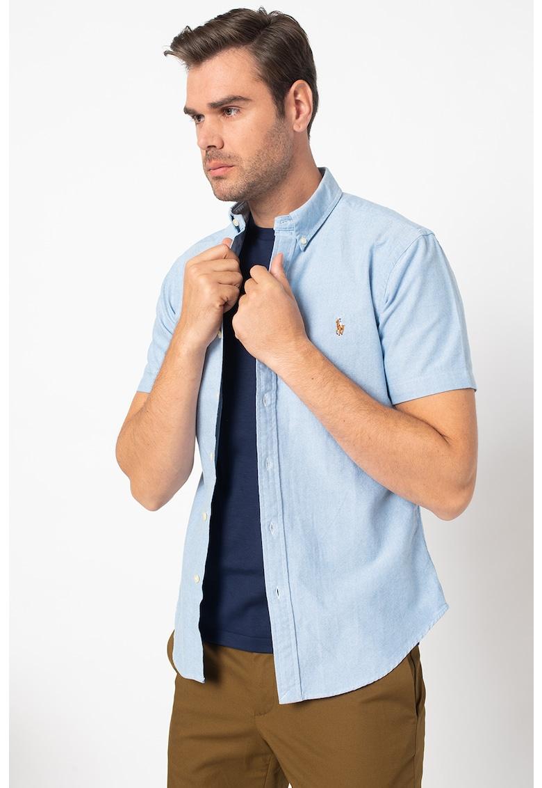 Camasa slim fit cu guler fixat cu nasturi de la Polo Ralph Lauren