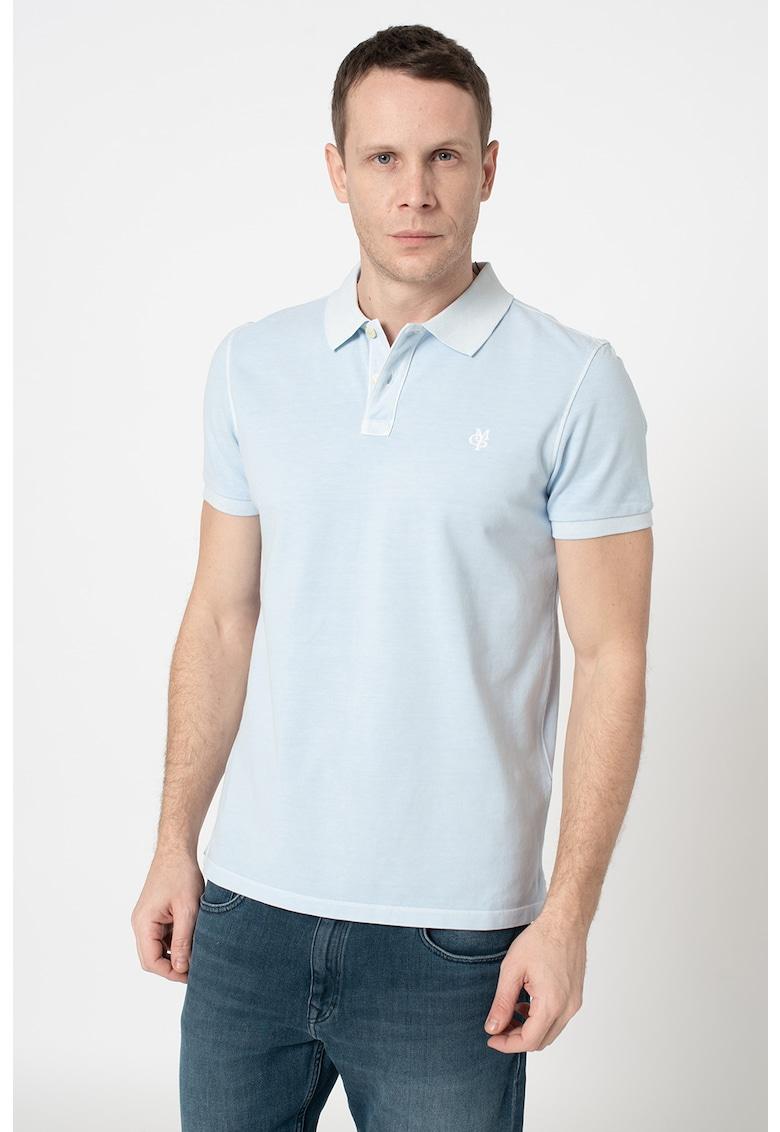 Tricou polo cu logo brodat Bărbați imagine