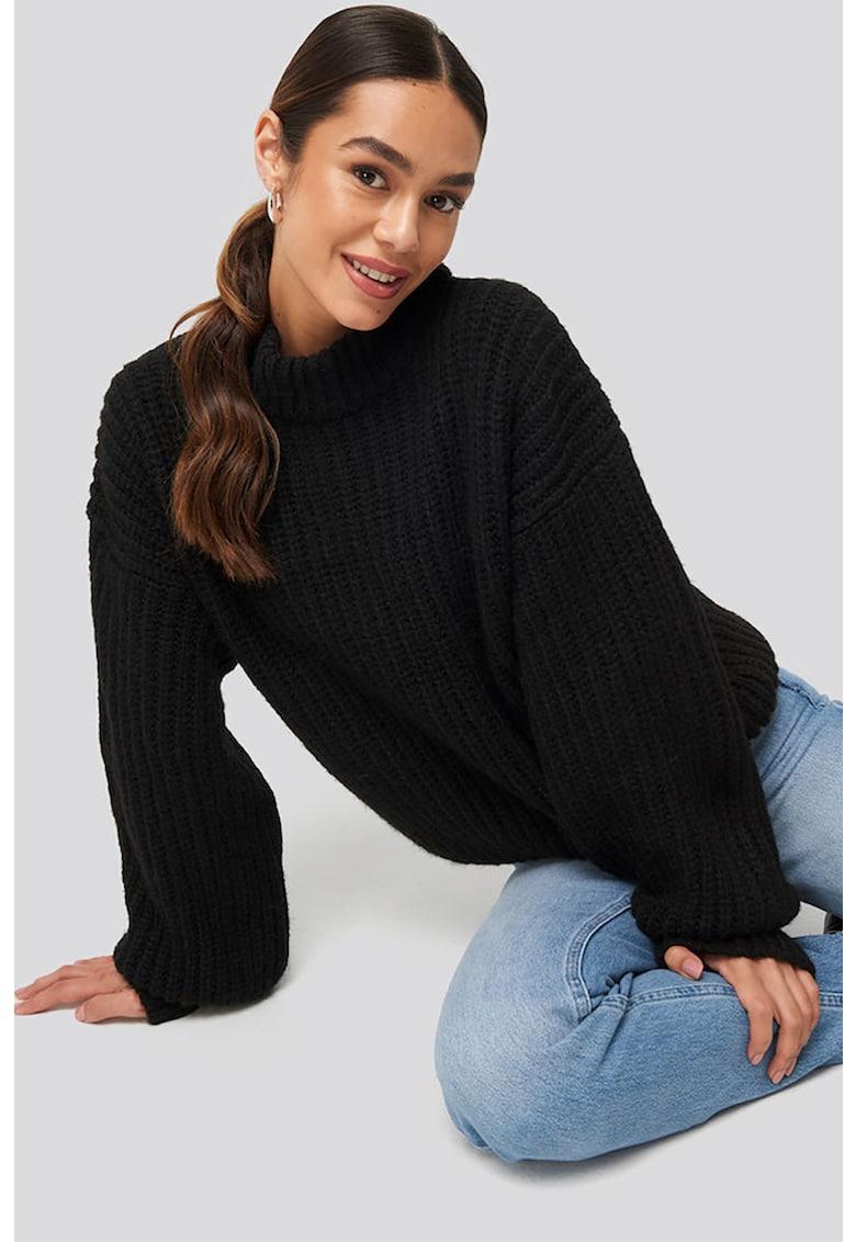 Pulover supradimensionat din tricot cu striatii NA-KD imagine 2021