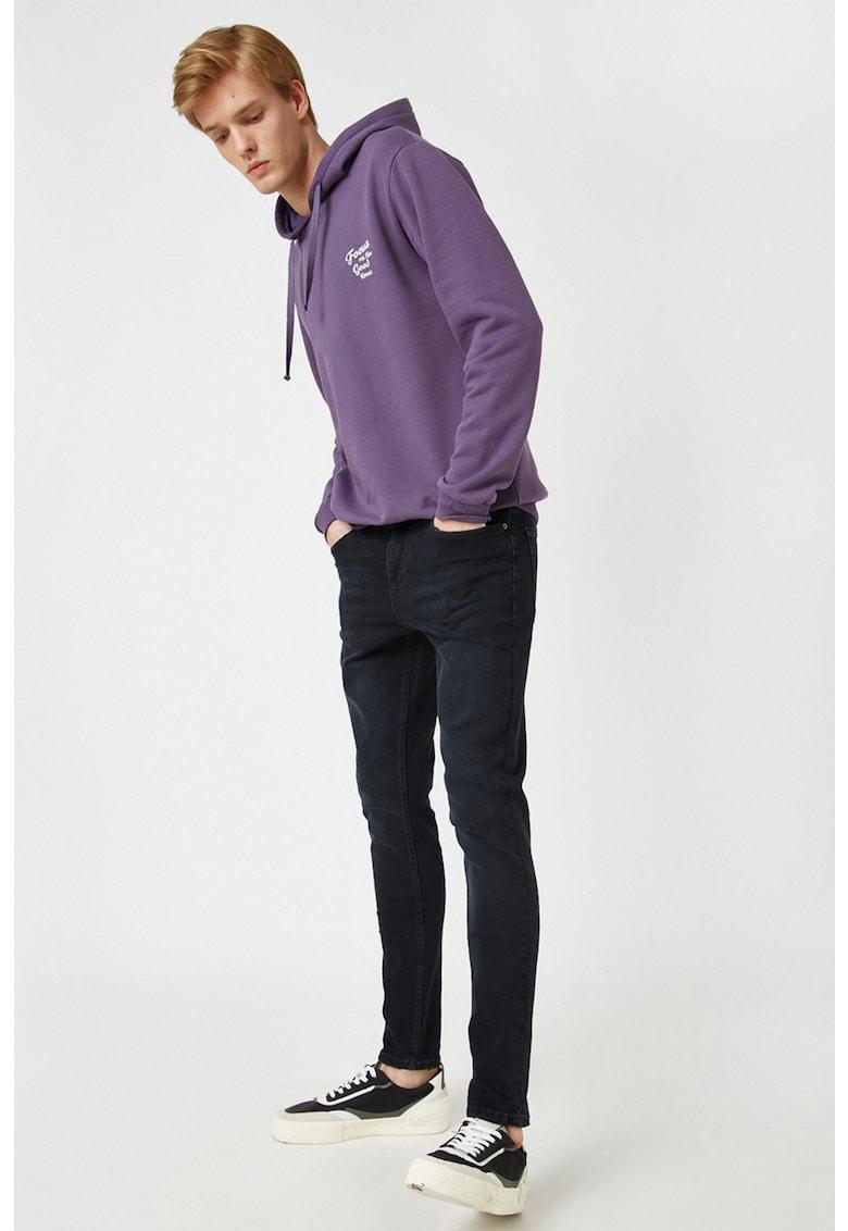 Blugi super skinny cu talie joasa Justin