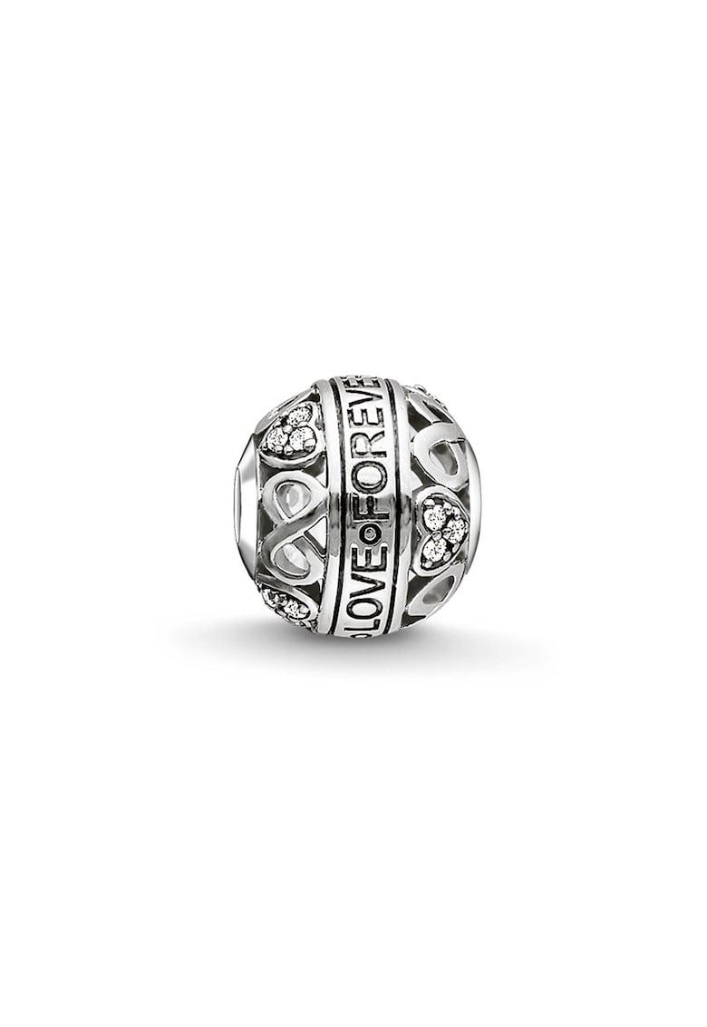 Talisman de argint 925 cu mesaj gravat