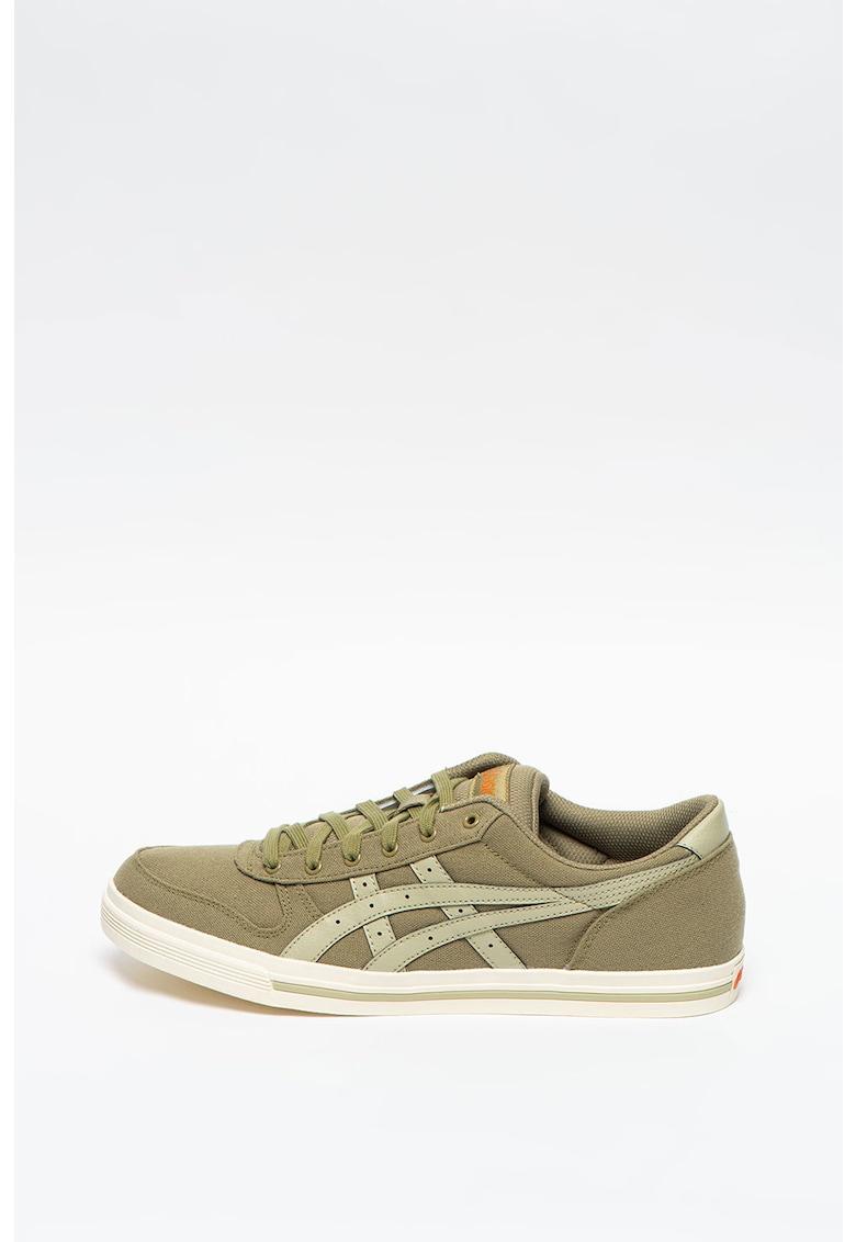 Pantofi sport cu insertii de piele ecologica Aaron