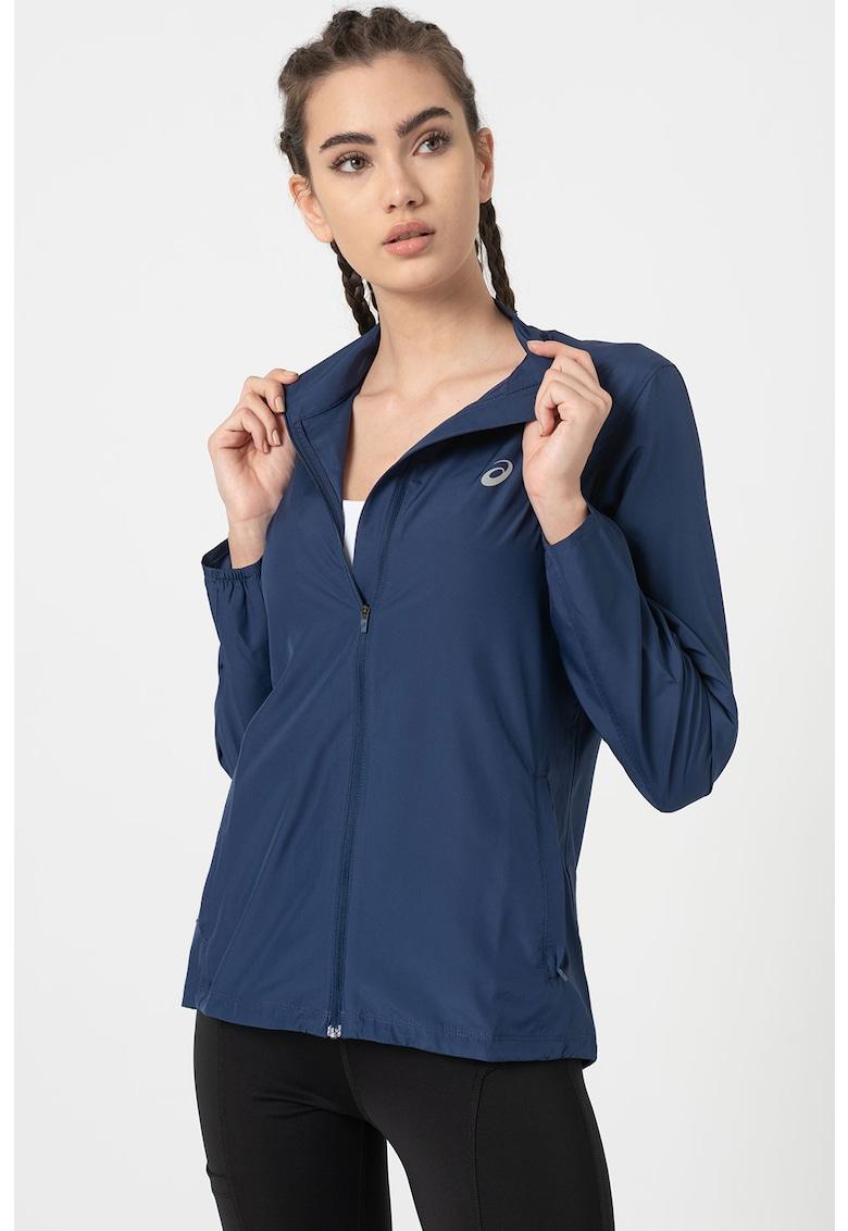 Jacheta cu fermoar - pentru alergare Silver imagine