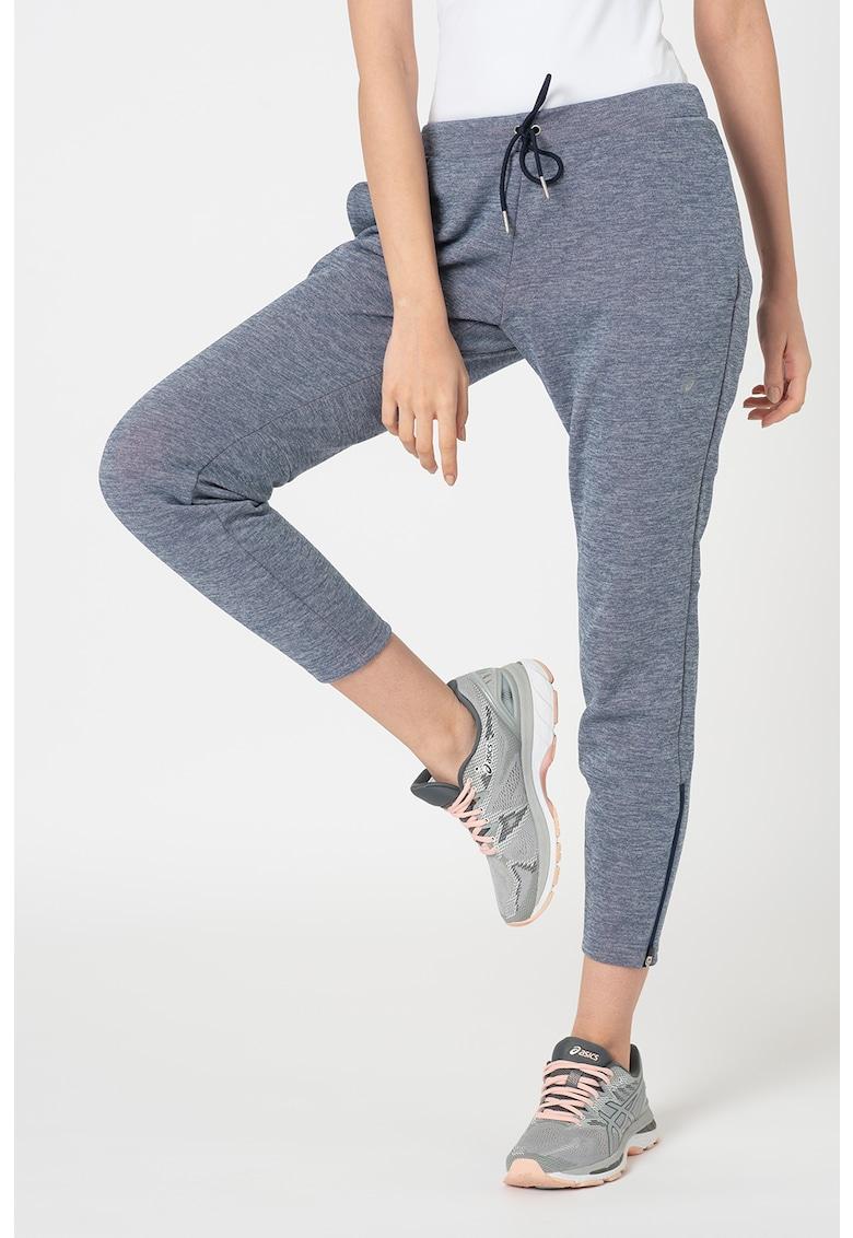 Asics Pantaloni cambrati de fleece cu snur - pentru fitness Gel-Heat