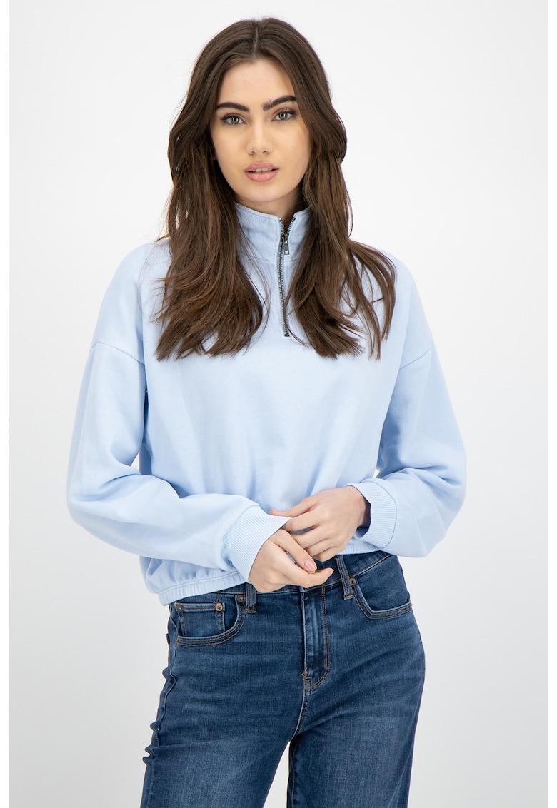 Bluza sport cu fenta cu fermoar imagine