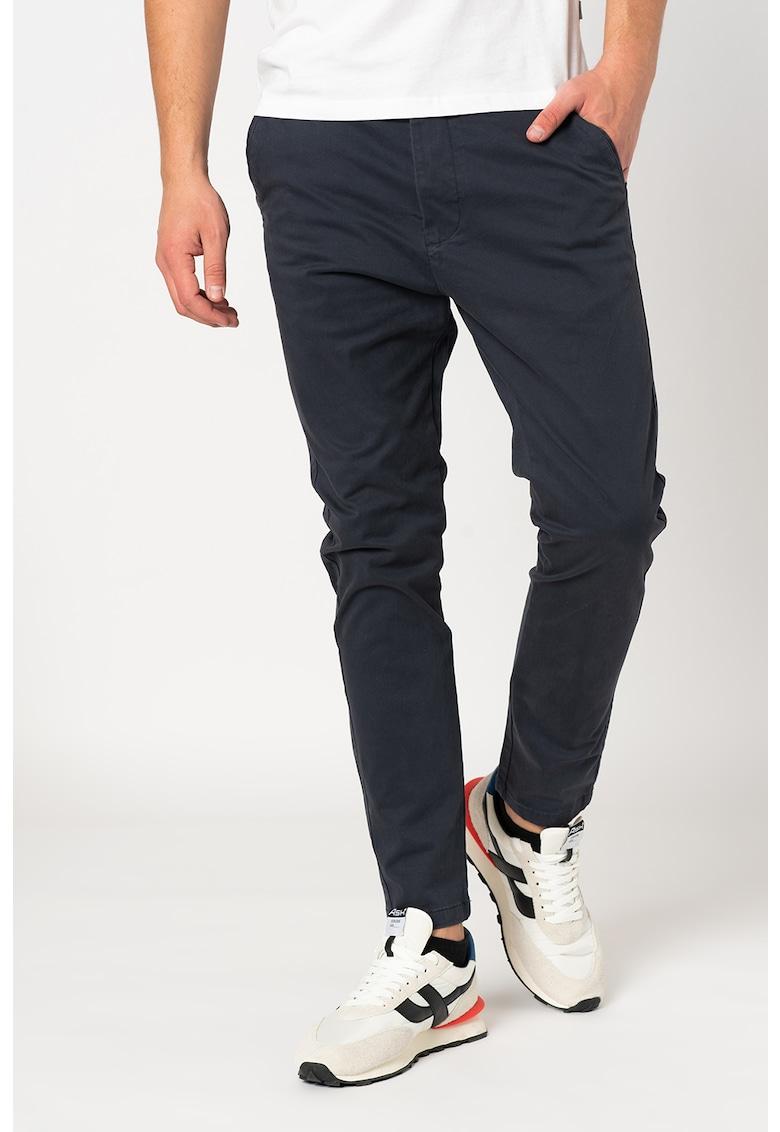 Pantaloni chino cu buzunare oblice Jim imagine