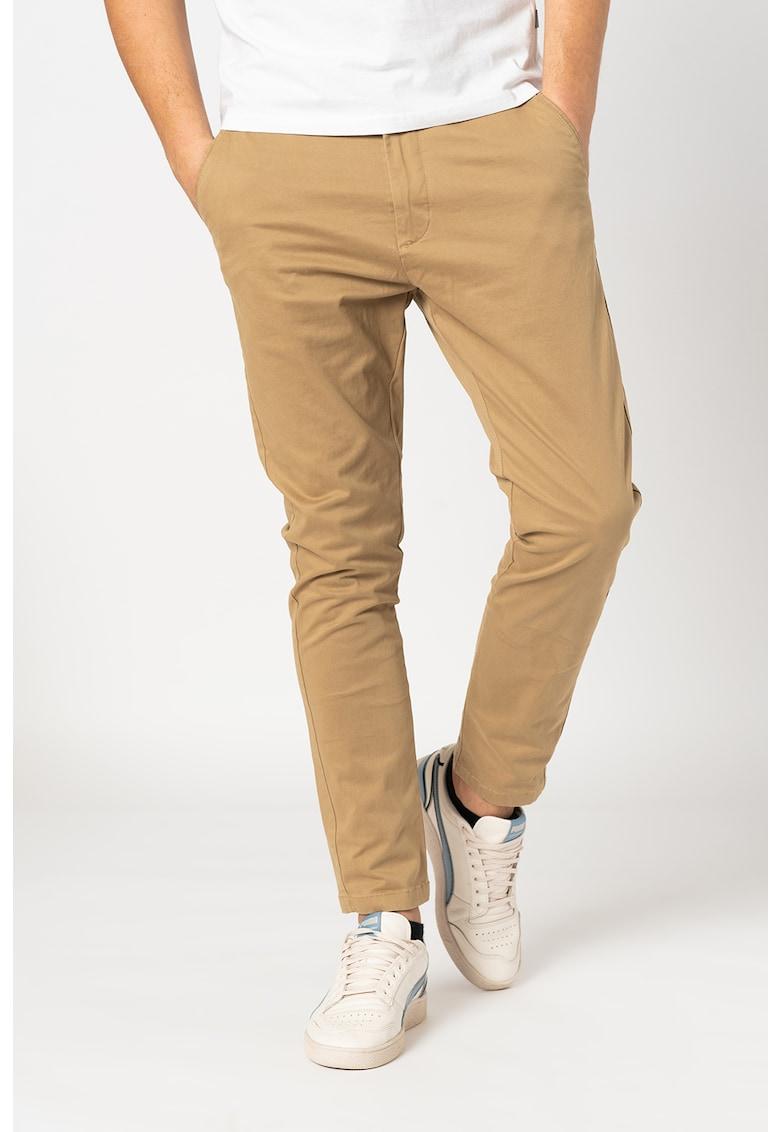 Pantaloni chino cu buzunare oblice Jim fashiondays.ro