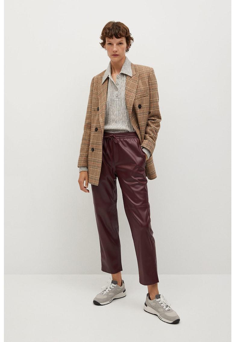 Pantaloni din piele ecologica Apple