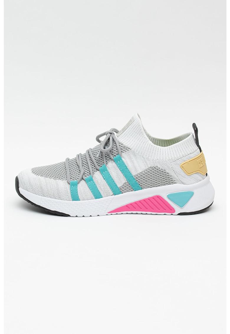 Pantofi sport slip-on din material textil