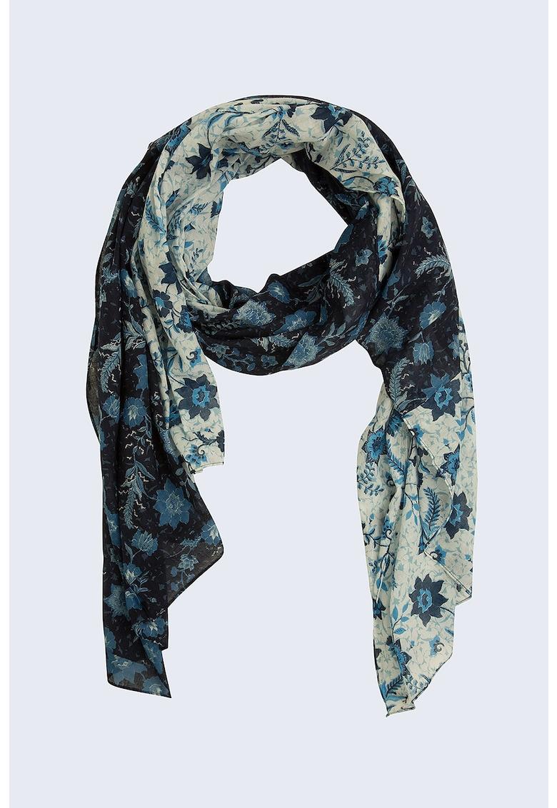 Esarfa cu model floral Lery imagine fashiondays.ro Pepe Jeans London