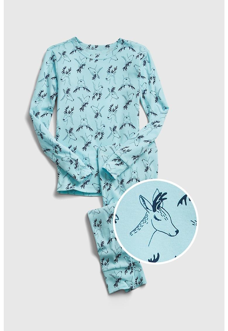 Pijama cu bluza cu maneci lungi imagine