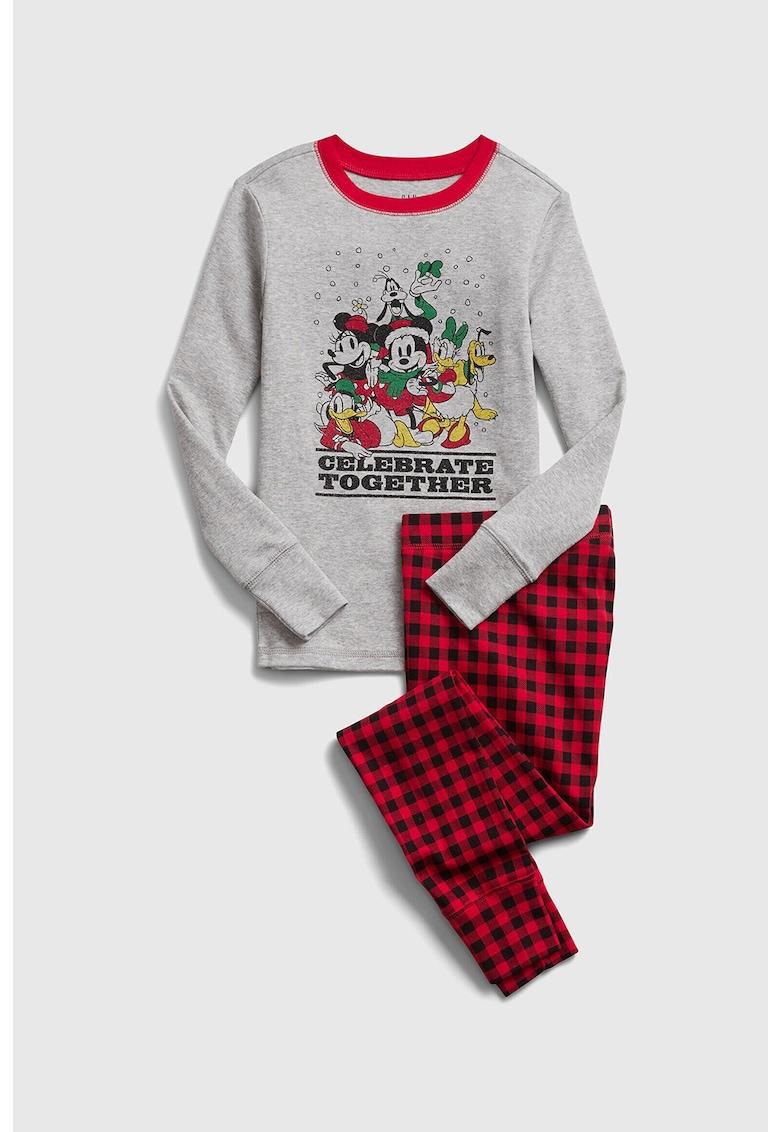 Pijama cu imprimeu cu desene animate imagine