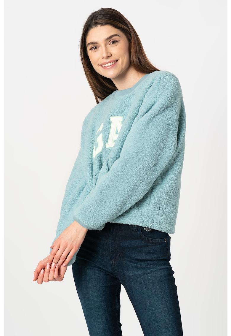 Bluza sport de fleece cu logo imagine promotie