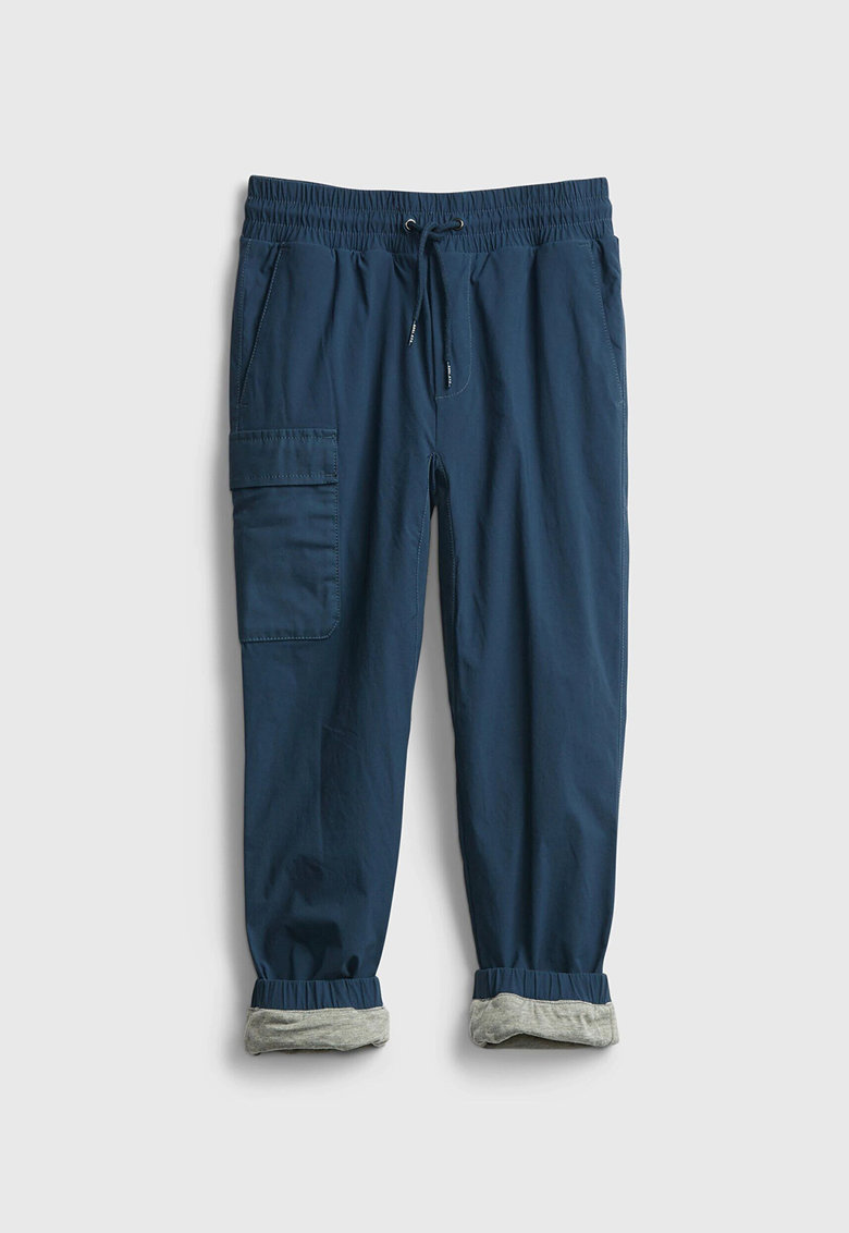 GAP Pantaloni crop cu buzunar cu clapa