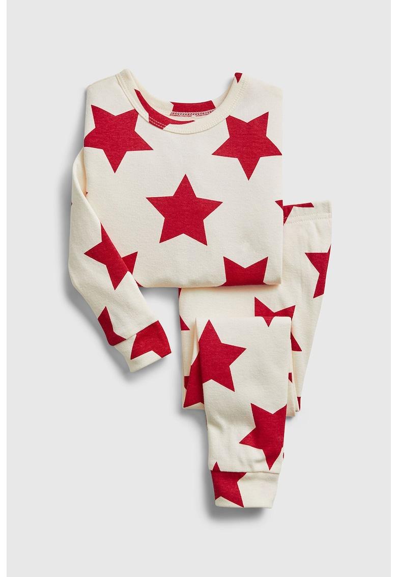 Pijama cu imprimeu cu stele imagine