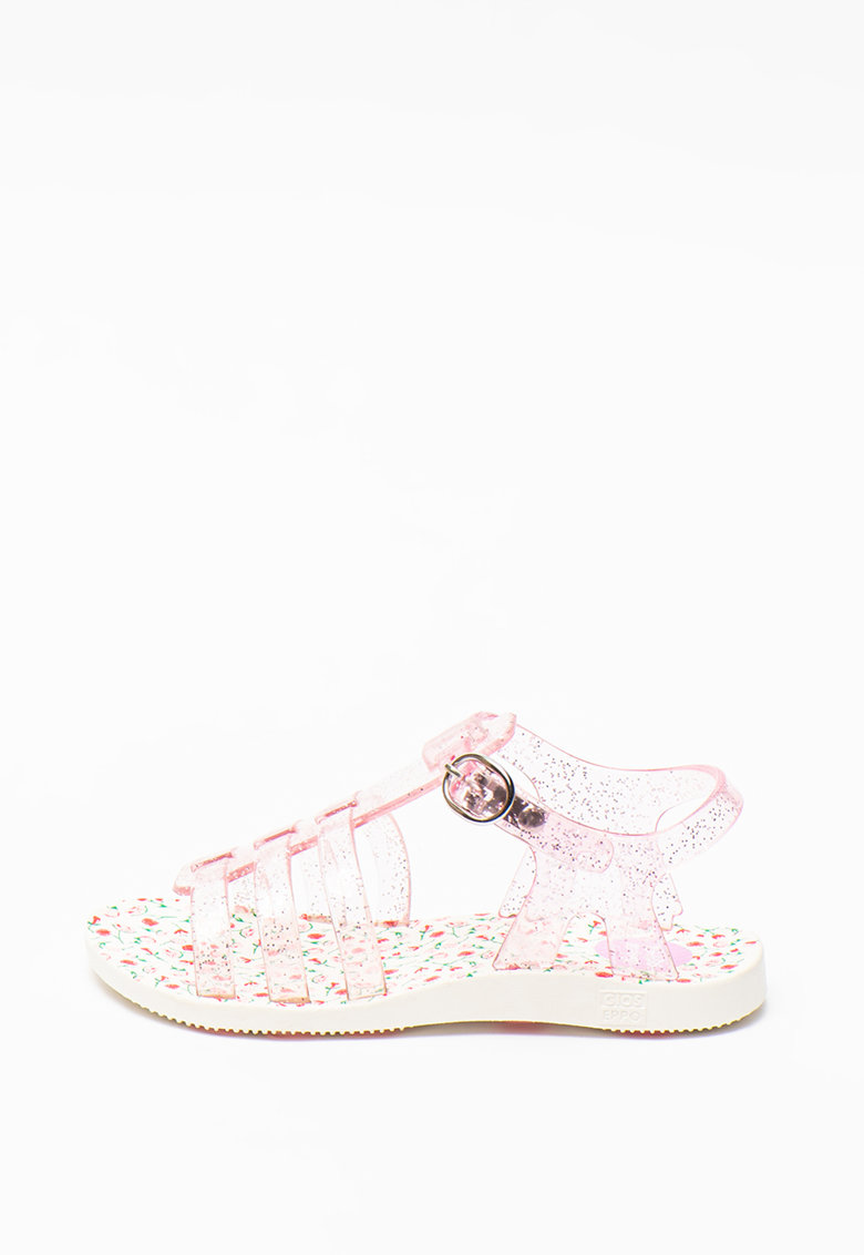 Sandale cauciucate stralucitoare Delnice imagine fashiondays.ro Gioseppo