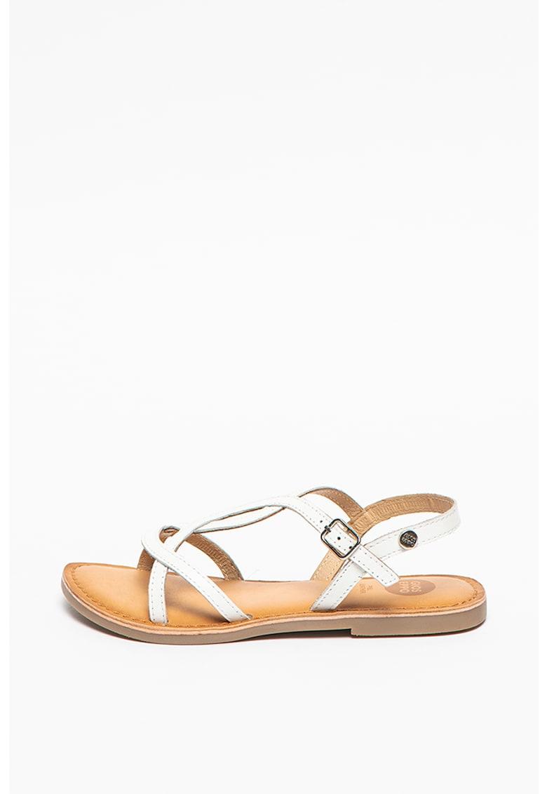 Sandale de piele Biscoe imagine