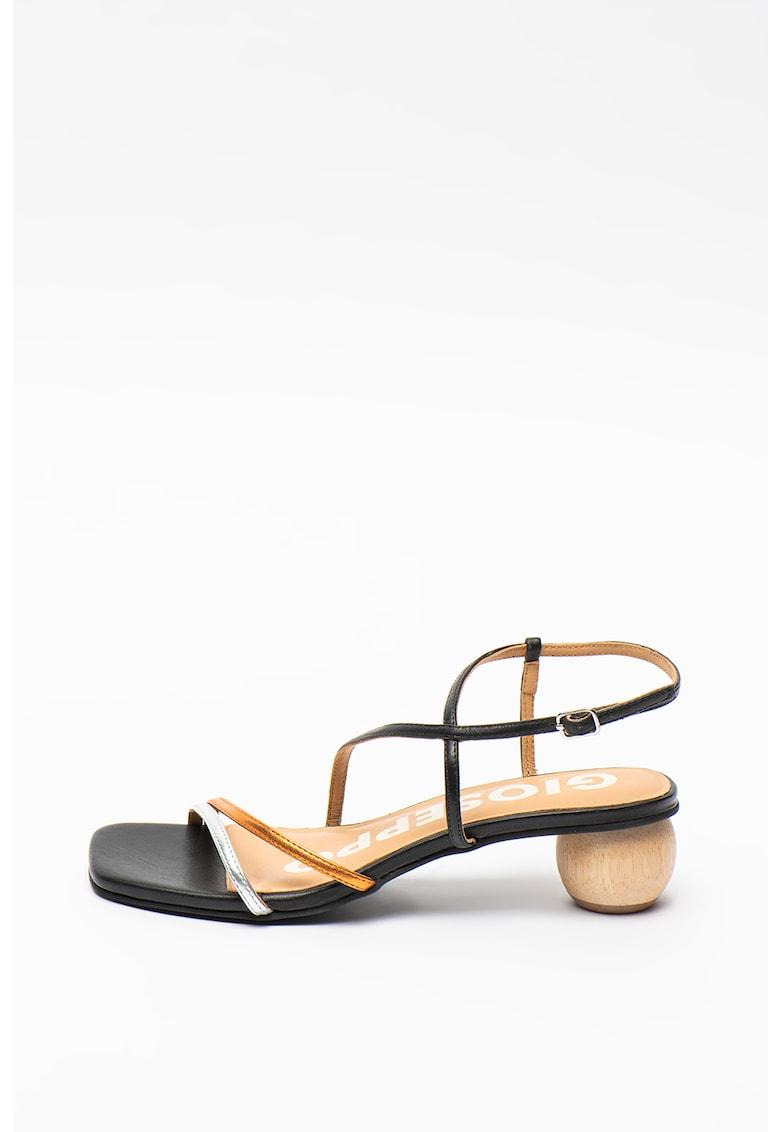Sandale de piele cu barete multiple Balsam