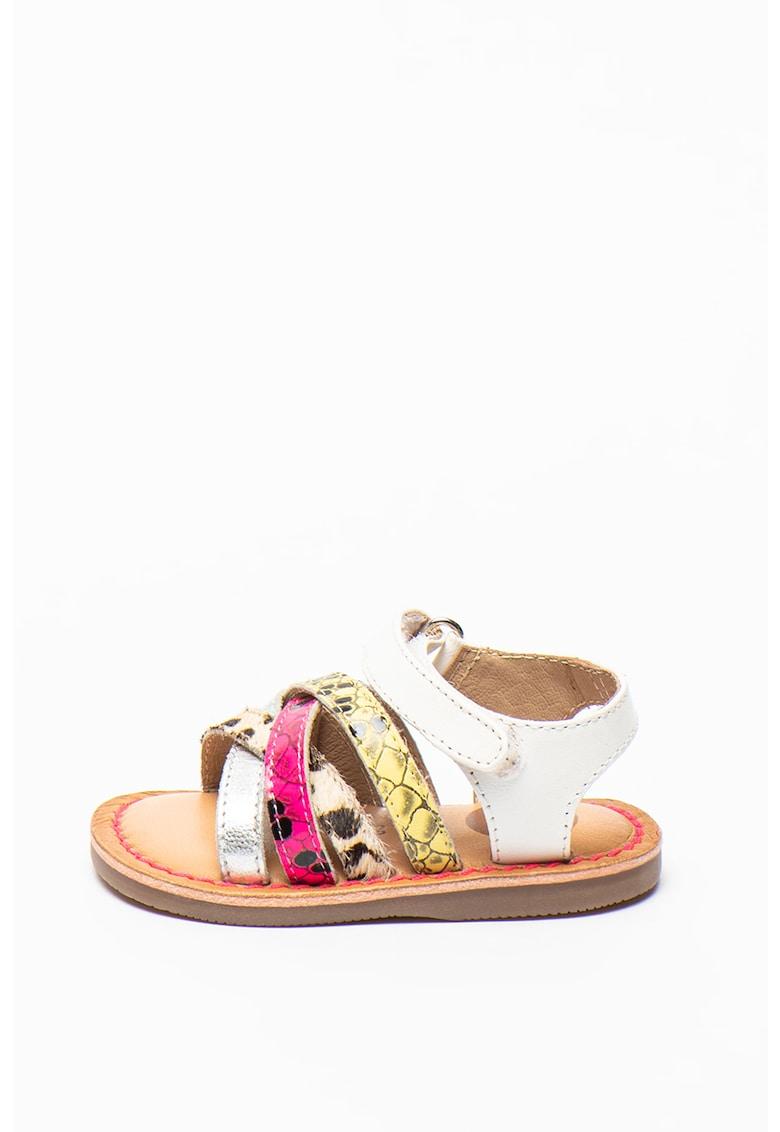 Gioseppo Sandale de piele cu barete incrucisate Merton