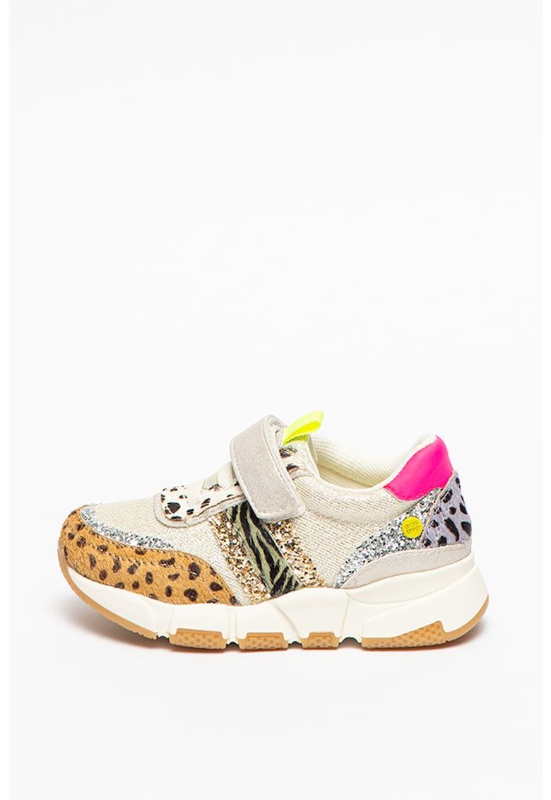 Pantofi sport cu model colorblock si velcro Leriche fashiondays.ro