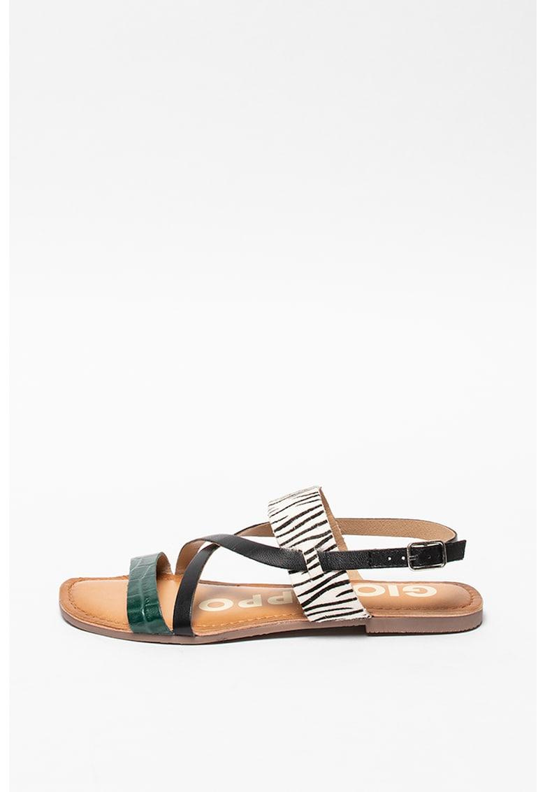 Sandale de piele Star