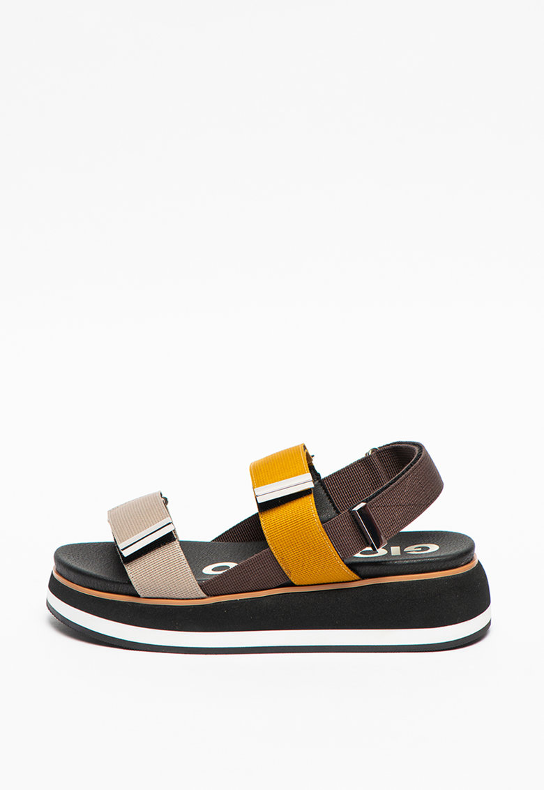 Sandale din material textil cu platforma Urbandale poza fashiondays